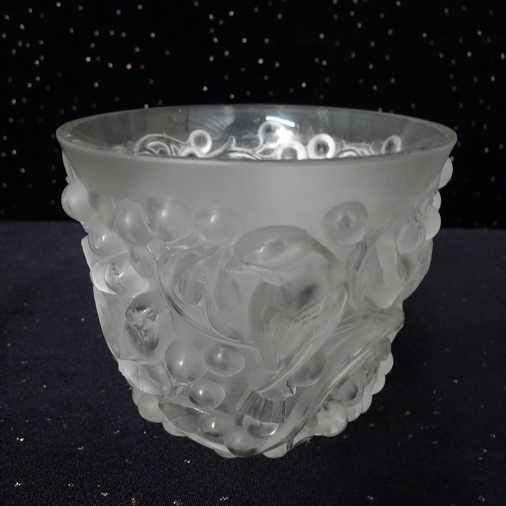3: Signed Lalique Vase