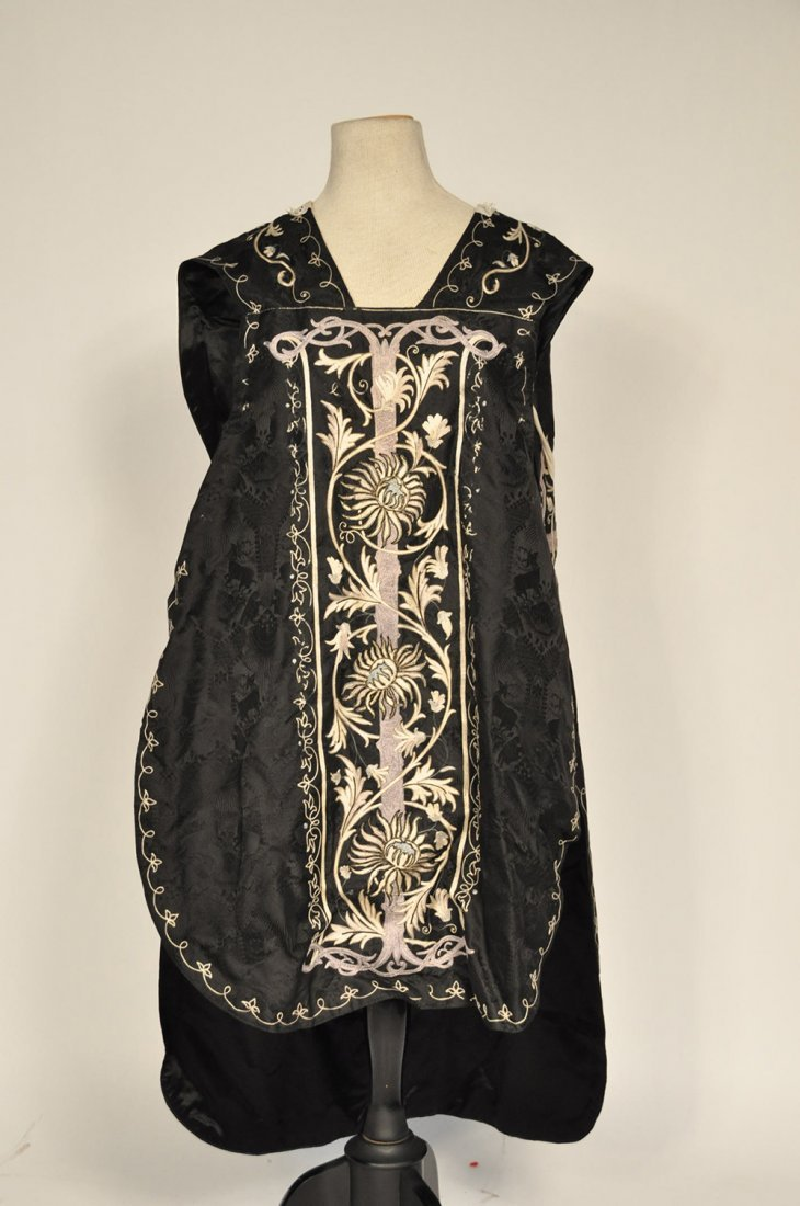 Black and Gold Renaissance Stlye Film Worn Costume