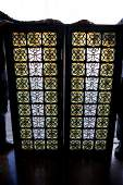 19th Century Tiffany Leaded Stained Glass Window