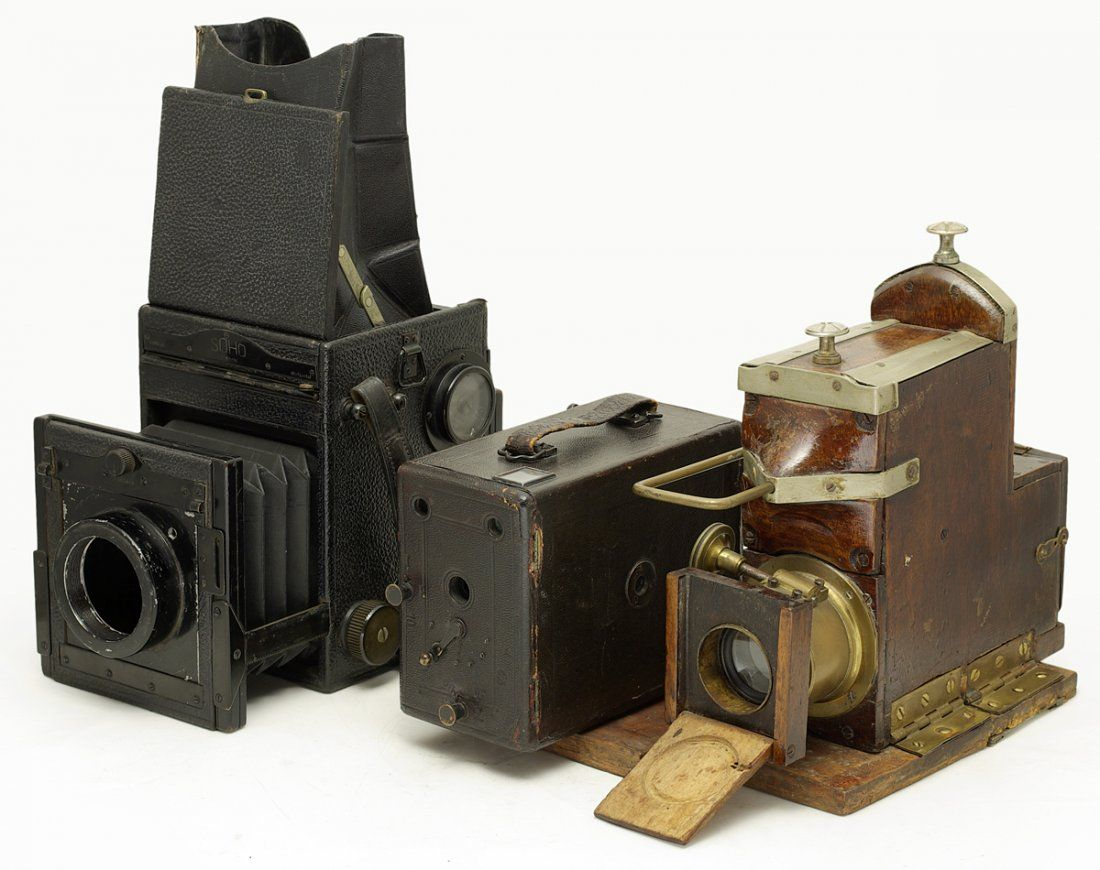 Hasselblad Express Newness , Vintage Ferrotype camera