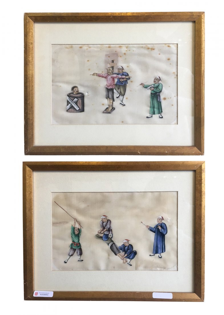 2 Tong Cao Paintings