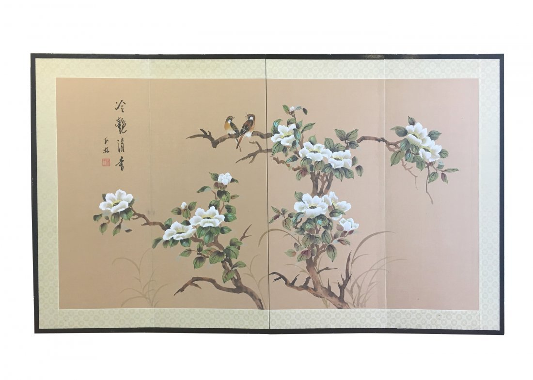 Chinese Painting By Yu Lin