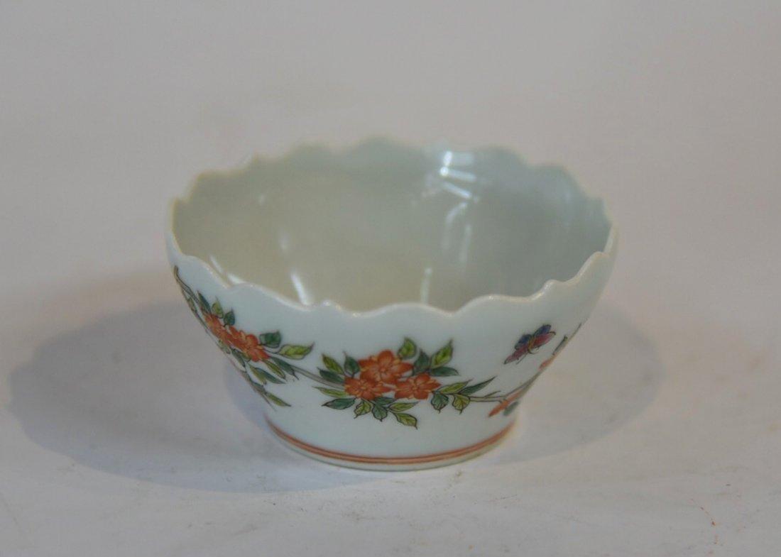 Ming Dynasty Flower Pattern Brush Washer - 3