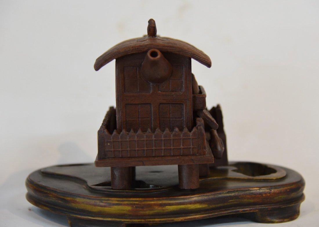 Qing Dynasty Qianlong TeaPot - 3