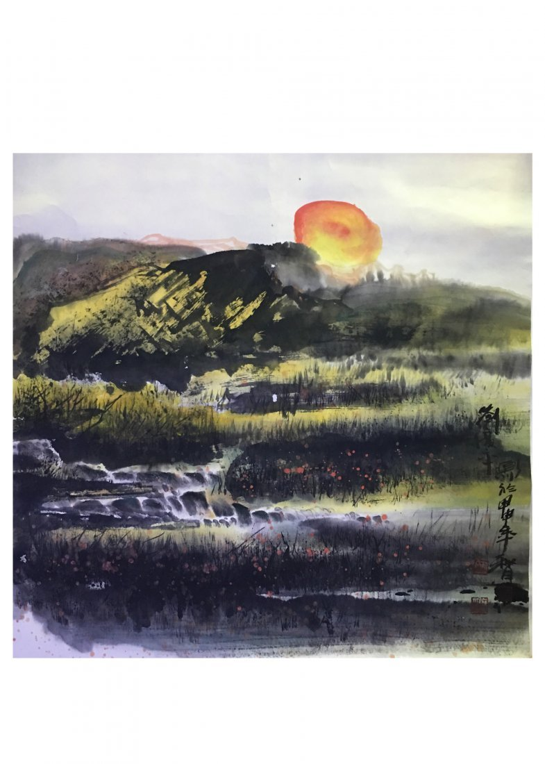 Liu Guang Ping Chinese Painting