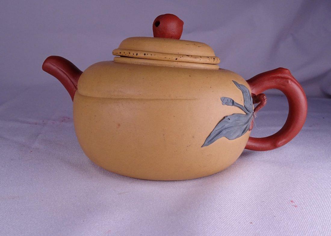 Purple Clay Teapot
