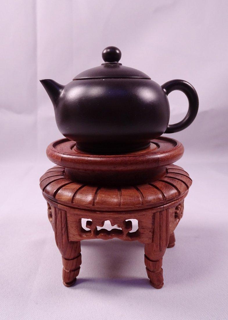 Da Zhou Hand Made Purple Clay Pot