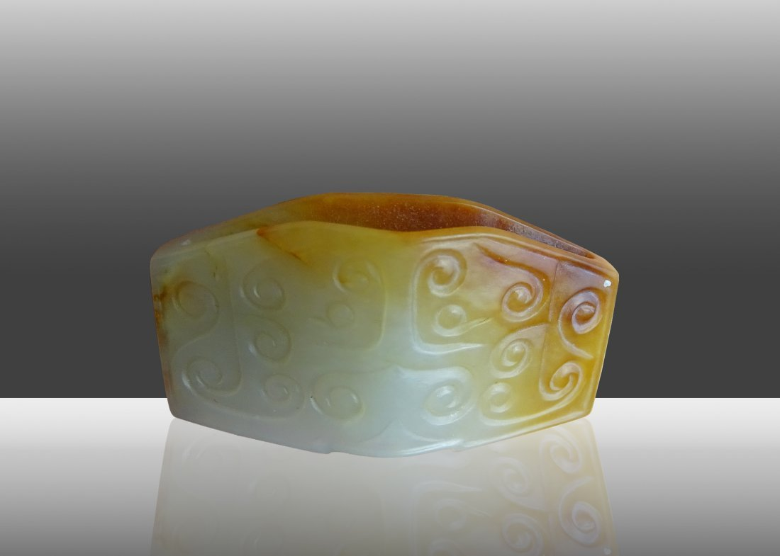 Ancient Jade:Tang Song Dynastie Cloud Pattern Jade