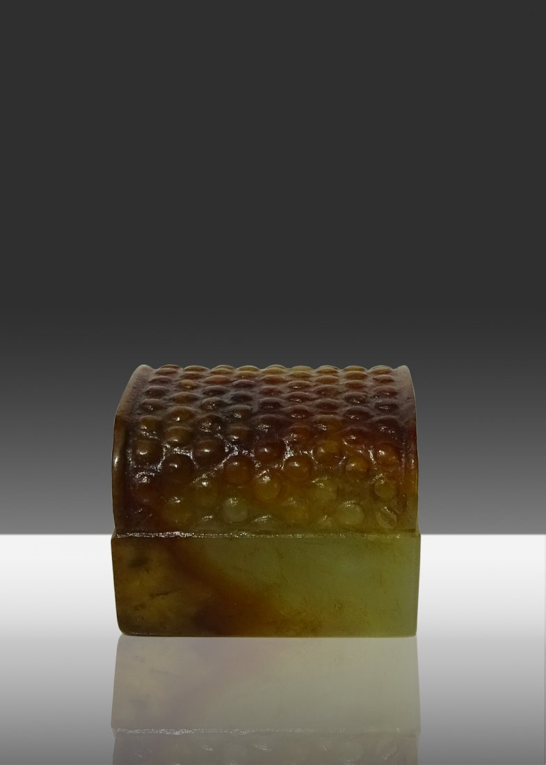 The Three Kingdoms period White Jade  Seal