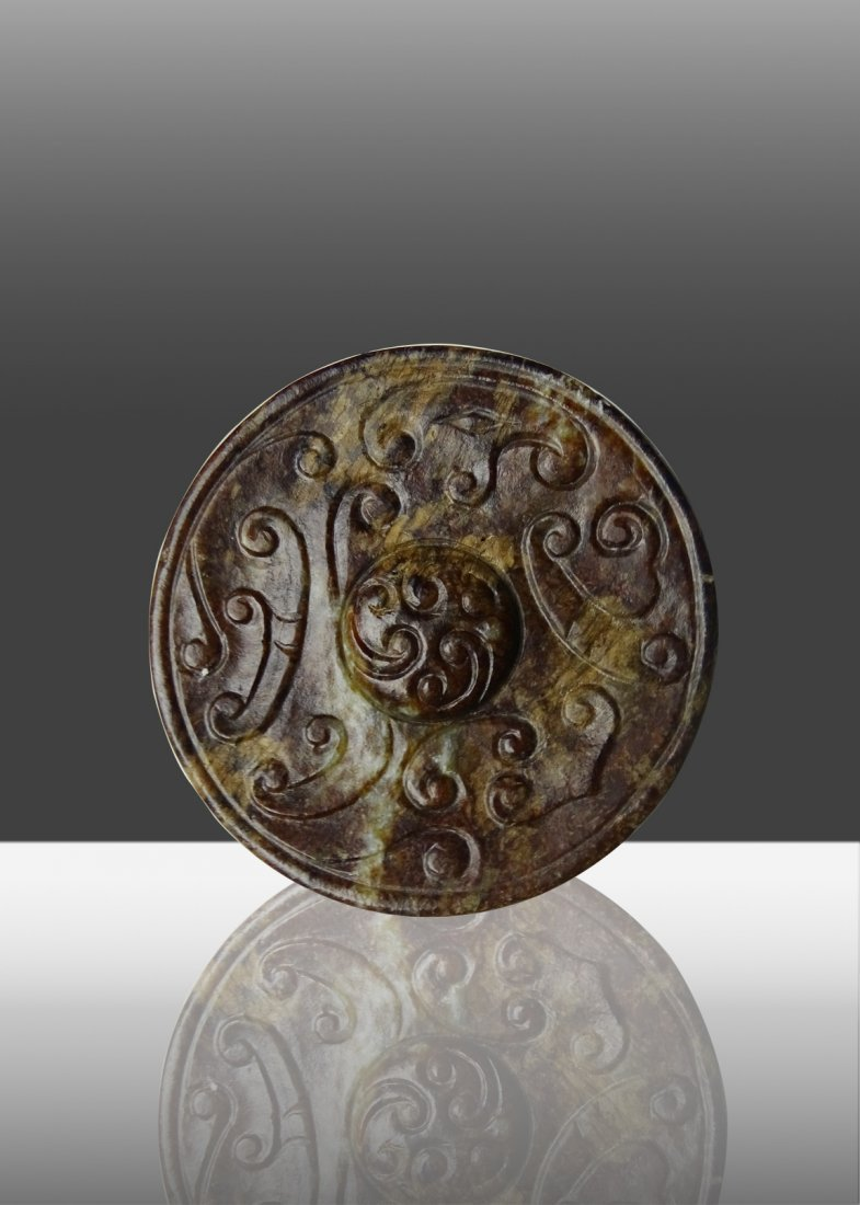 Han Dynasty Ancient Jade  RUYI Pendant Accessories