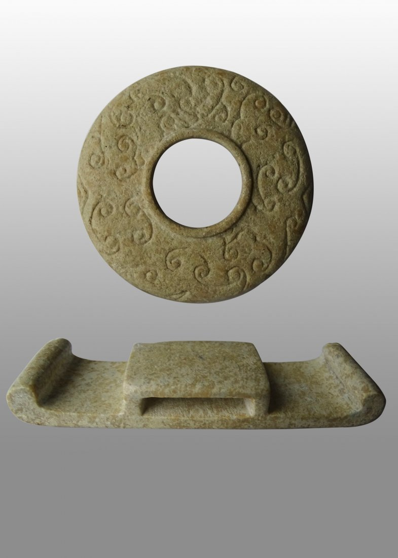 Han Dynasty Ancient Jade  Accessories
