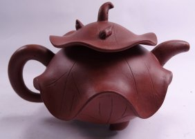 Shen Pan Fu Purple Clay Teapot
