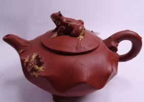 Yi Xing Purple Clay Teapot