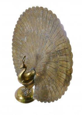 Bronze Peacock statue