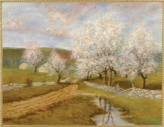 8: Attributed to George Howell Gay  IN BLOOM