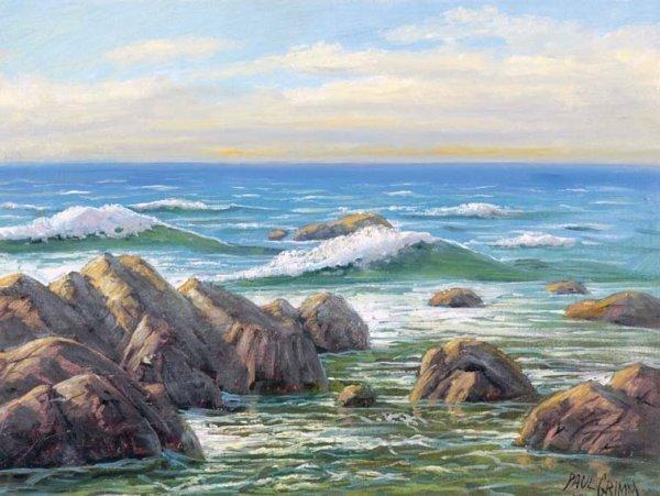 11: Paul Grimm American, 1891-1974 SEASCAPE