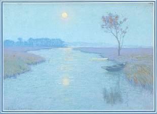 Birge Lovell Harrison American, 1854-1929 SUNSET RI