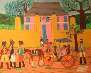 Michel M. Obin Haitian, 20th century CAP HAITIAN