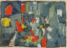 75: John Von Wicht German/American, 1888-1970 ABSTRACTI