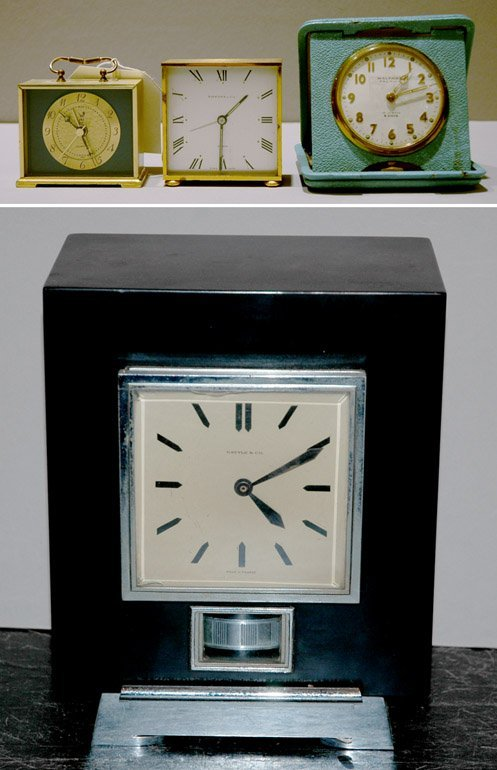 208: Group of Five Desk Clocks