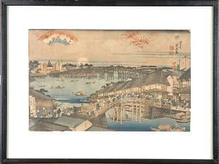 Japanese Woodblock Print, Eisen