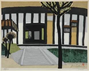 Japanese Woodblock Print, Junichiro Sekino