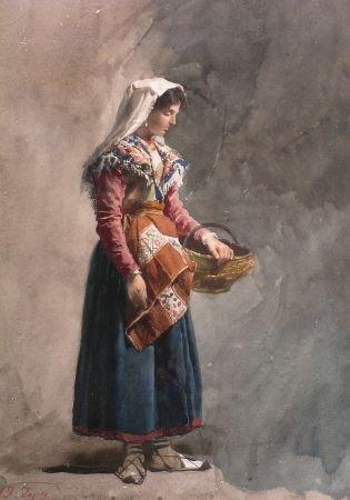 2003: Jose Tapiro y Baro Spanish, 1830-1913 YOUNG PEASA