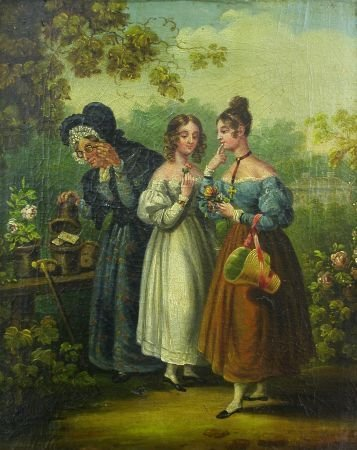 2004: French School 19th Century THE FINDING OF THE LOV