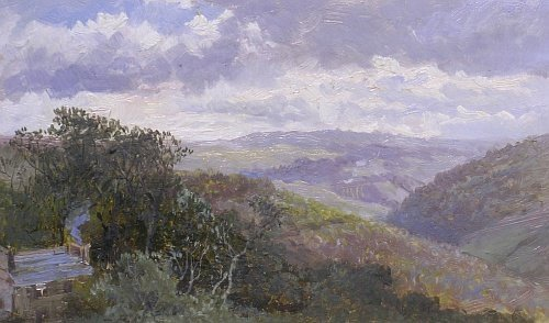 2008: Attributed to William Henry Pike LANDSCAPES: TWO