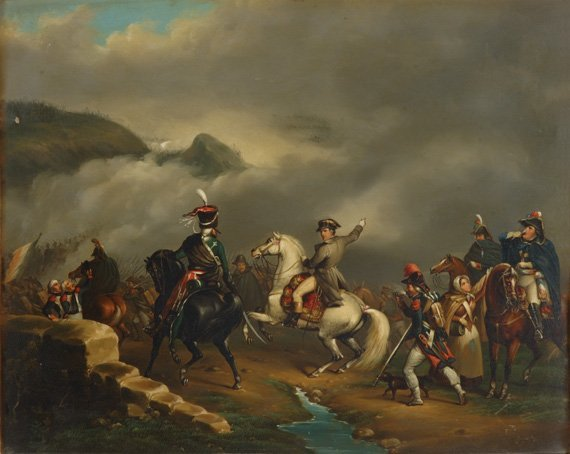2012: Manner of Horace Vernet THE PASSAGE OF THE ALPS
