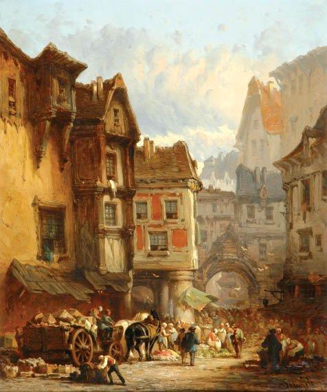 2013: Leonard Saurfelt French, b.1840 VILLAGE MARKET SC