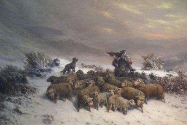 2014: August Friedrich Albrecht Schenck Danish, 1828-19