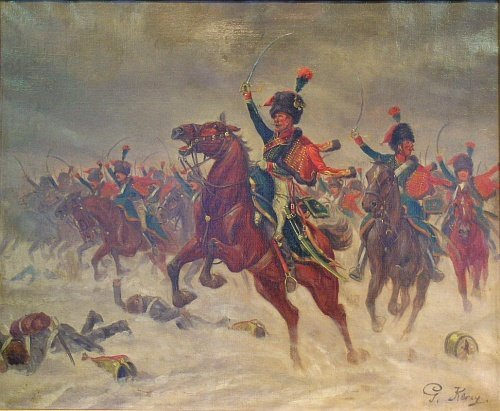 2016: G. Kercy French, 19th century THE CAVALARY CHARGE