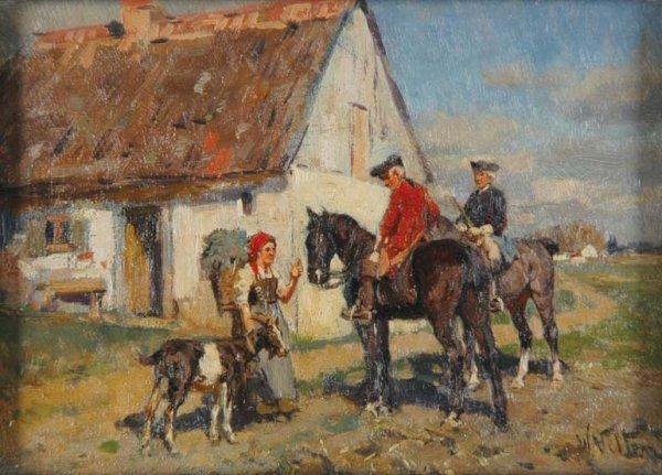 2018: Wilhelm Velten Russian, 1847-1929 THE HORSEMEN