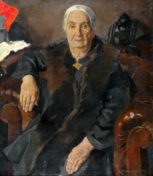 2036: Wassilij Masjutin Russian, 1884-1957 PORTRAIT OF