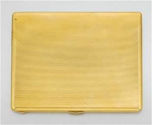 Gold Cigarette Case