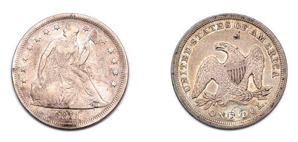 1001: Liberty Seated Silver Dollars