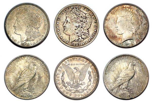1005: United States Silver Dollars