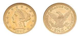 1896 $2 1/2 Liberty Head