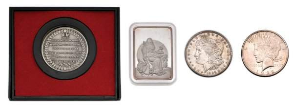 1162: Group of Miscellaneous Coins and Medals