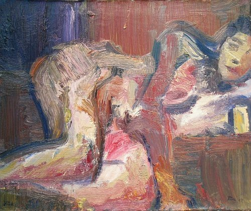 2: American School 20th Century Abstract Female Nude