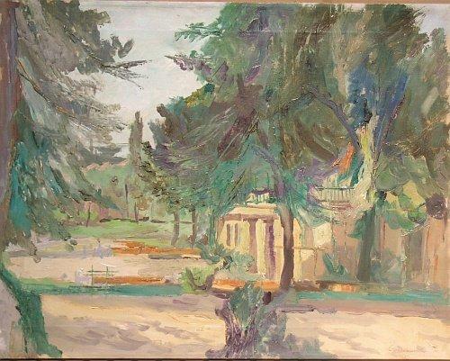 3: American School 20th Century Landscape