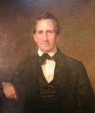 4: American School 19th Century Portrait of a Gentleman