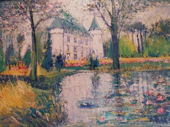 6: Yolande Ardissone French, b. 1927 Chateau de Nixon