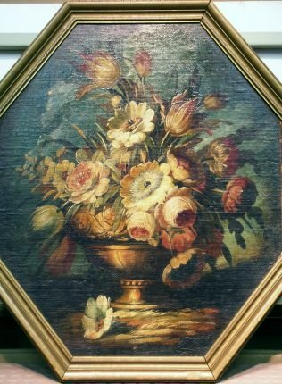 9: Belgian School Early 20th century Floral Still Life