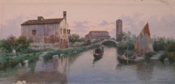 10: Eugenio Benvenuti Italian, 1881-1959 A View toward