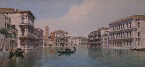 11: Eugenio Benvenuti Italian, 1881-1959 The Grand Cana