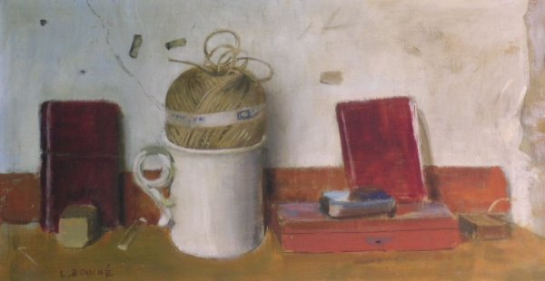 15: Louis Bouche American, 1896-1969 Still Life with Co