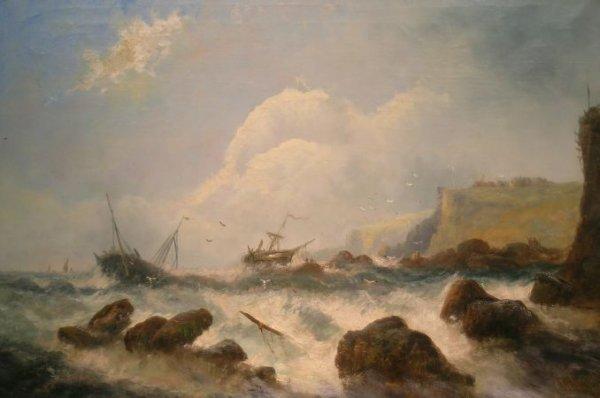 18: W. Byron American, 1860-1920 Xmas on Our Coast