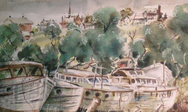 19: James Carlin American, 1909-2005 Provincetown